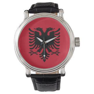 Albania Flag Wristwatches