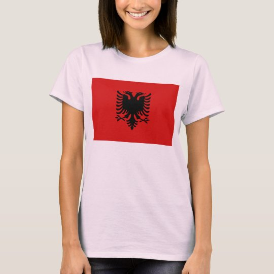 Albania Flag x Map T-Shirt