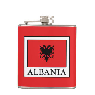 Albania Flask