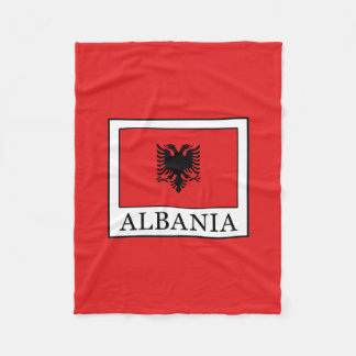 Albania Fleece Blanket