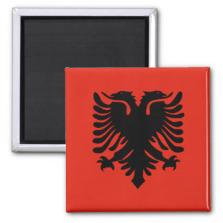 Albania High quality Flag Magnet