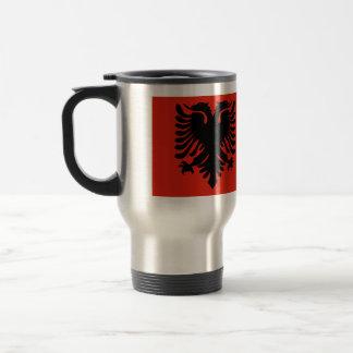Albania High quality Flag Travel Mug