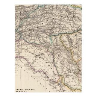 Albania, Iberia, Colchis, Armenia, Mesopotamia Postcard