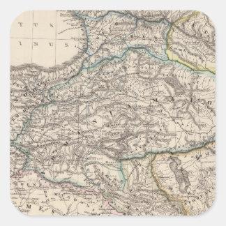 Albania, Iberia, Colchis, Armenia, Mesopotamia Square Sticker