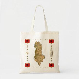 Albania Map + Flags Bag
