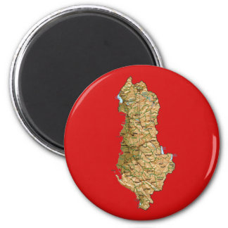 Albania Map Magnet