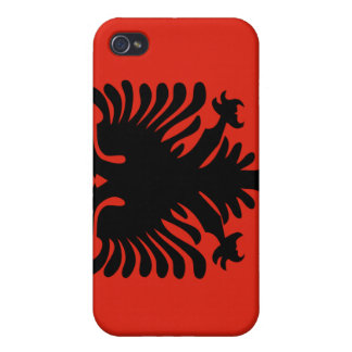 Albania National Nation Flag  iPhone 4/4S Case
