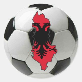 Albania national team classic round sticker
