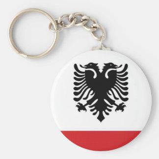 Albania Naval Ensign Key Ring