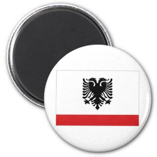 Albania Naval Ensign Refrigerator Magnets