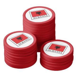 Albania Poker Chips Set