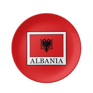 Albania Porcelain Plate
