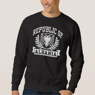 Albania Pullover Sweatshirt