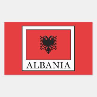 Albania Rectangular Sticker