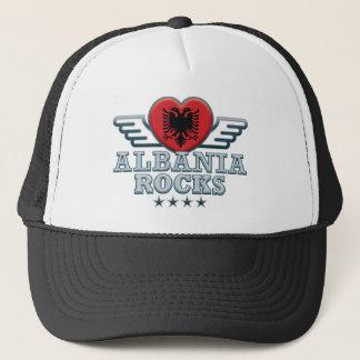 Albania Rocks v2 Trucker Hat