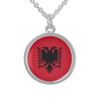 albania round pendant necklace