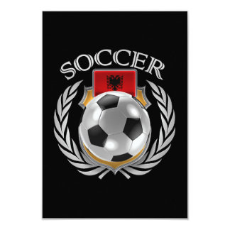 Albania Soccer 2016 Fan Gear 9 Cm X 13 Cm Invitation Card
