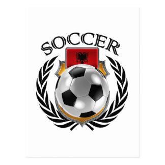 Albania Soccer 2016 Fan Gear Postcard