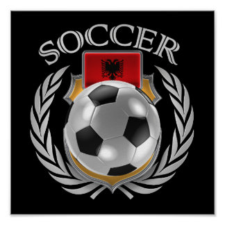 Albania Soccer 2016 Fan Gear Poster