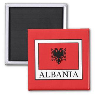 Albania Square Magnet