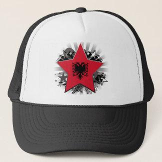 Albania Star Trucker Hat