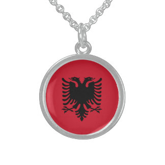 albania sterling silver necklace