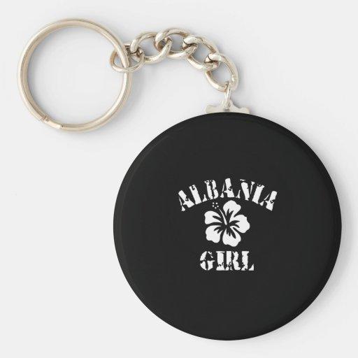Albania Tattoo Style Key Chains