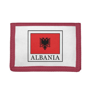 Albania Trifold Wallets