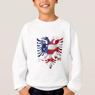 Albanian American Eagle Sweatshirt