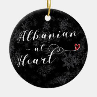 Albanian At Heart, Christmas Tree Ornament