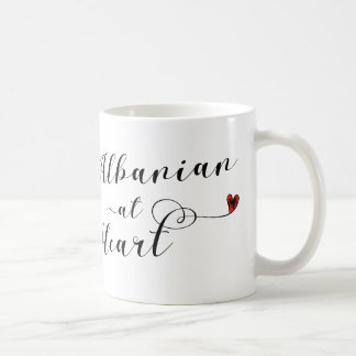 Albanian At Heart Mug, Albania Coffee Mug