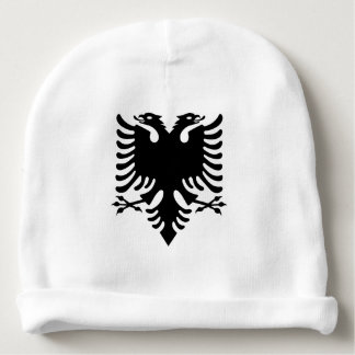 Albanian Coat of arms Baby Beanie