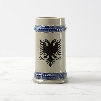 Albanian Coat of arms Beer Stein