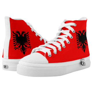 Albanian Coat of arms High Tops