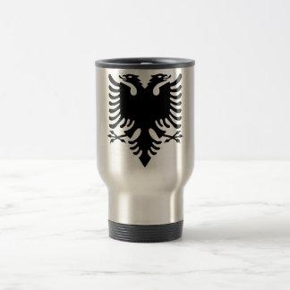 Albanian Coat of arms Travel Mug