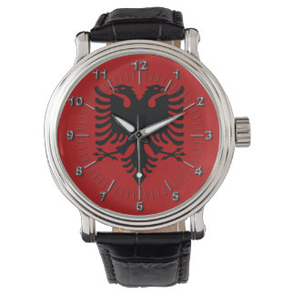 Albanian Coat of arms Wristwatch