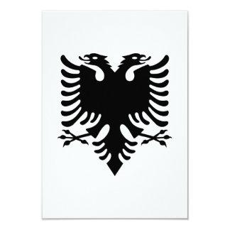 Albanian double headed eagle personalized invite