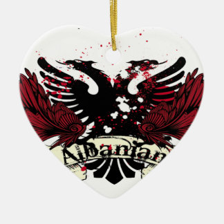 albanian eagle christmas ornament