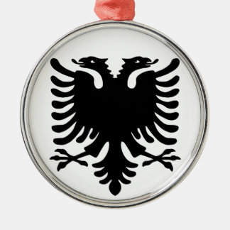 Albanian Eagle. Christmas Ornament