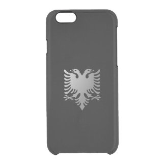 Albanian eagle clear iPhone 6/6S case