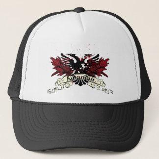 albanian eagle trucker hat