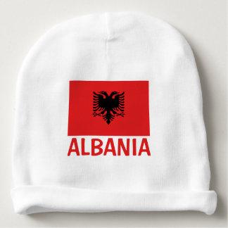 Albanian Flag Baby Beanie