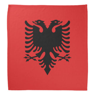 Albanian flag bandanas