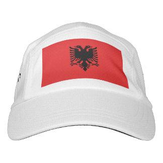 Albanian flag hat