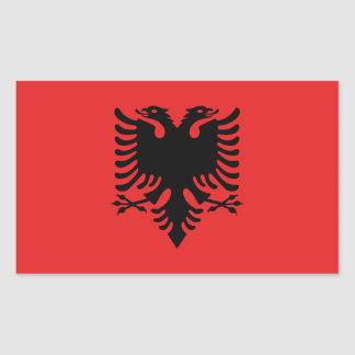 Albanian flag Stickers