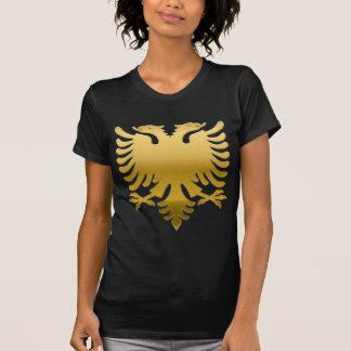 Albanian gold Eagle 3D T Shirt
