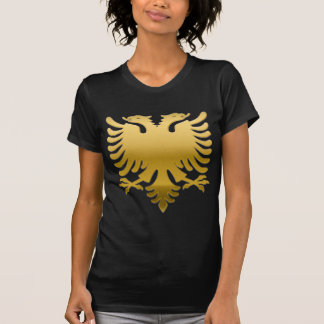 Albanian gold Eagle 3D T-Shirt