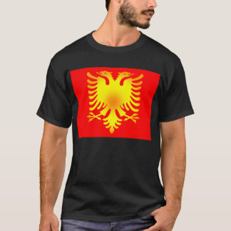 Albanian Golden Eagle Flag T-Shirt