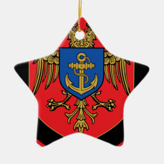 Albanian Naval Forces - Forcat Detare Ceramic Star Decoration