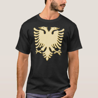 Albanian new one gold Eagle T-Shirt